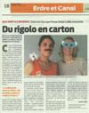 Pirouette Cacahouète dans le journal Presse Océan